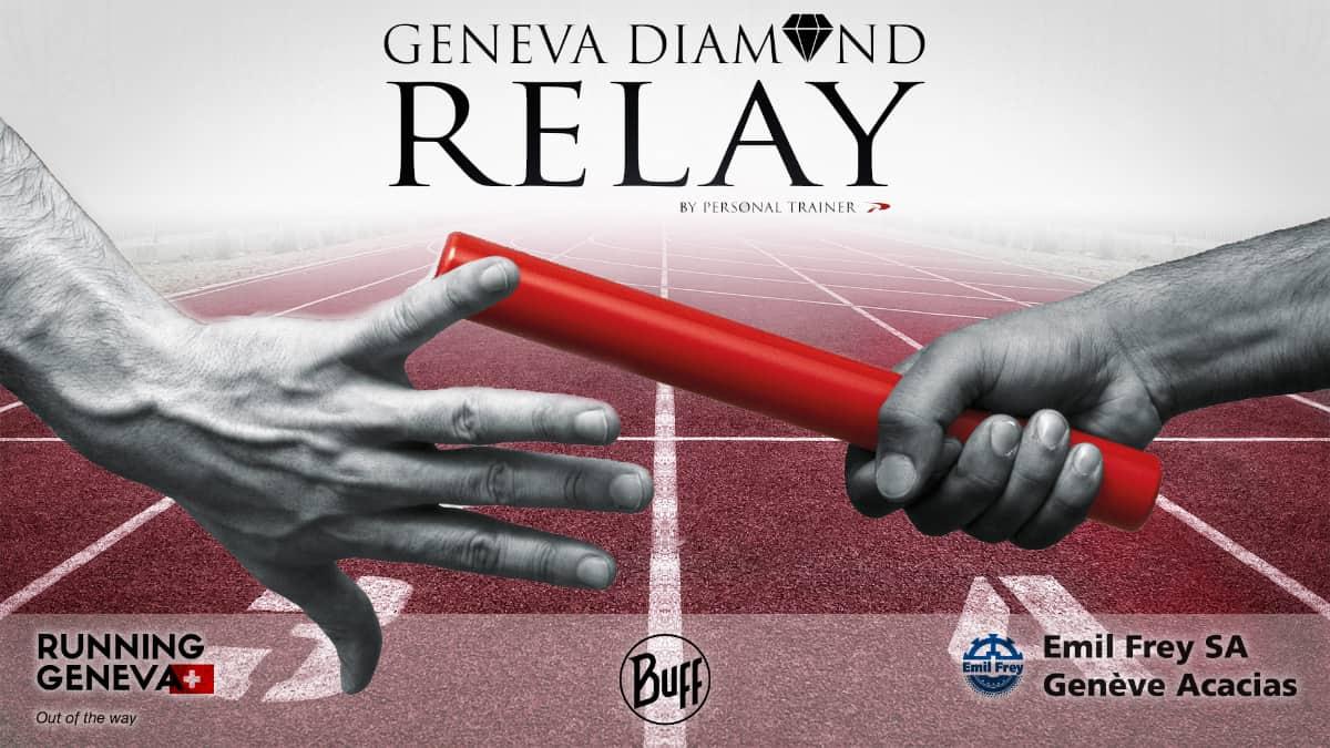 Geneva Diamond Relay est un relai inter-entreprise fun et célèbre pour les événements team building